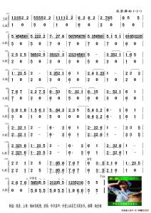 采茶舞曲大提琴合成谱2